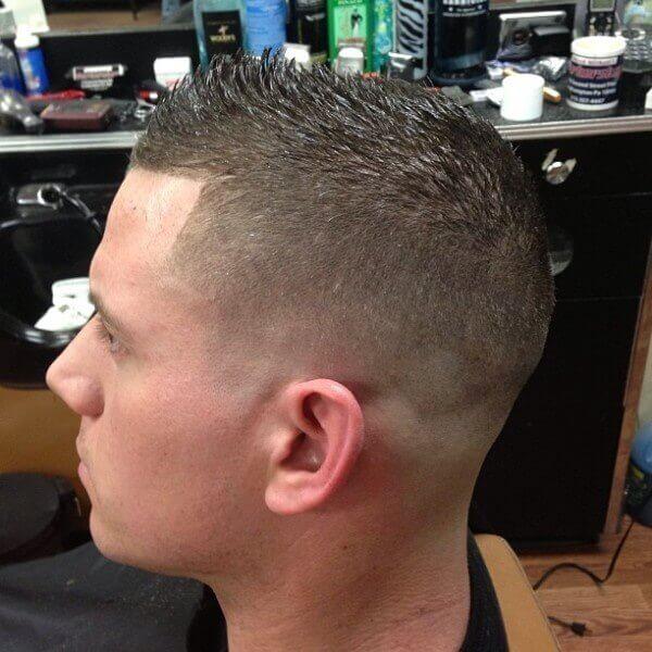 Tapered haircut female